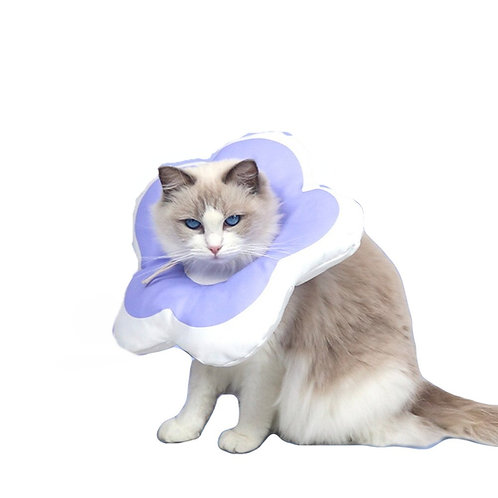 Waterproof Adjustable Recovery Elizabethan Collar for Cats