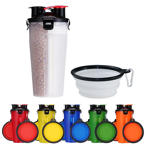 Pet Water & Food Container