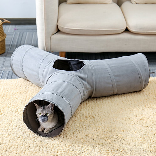 Foldable Cat Tunnel Training Toy