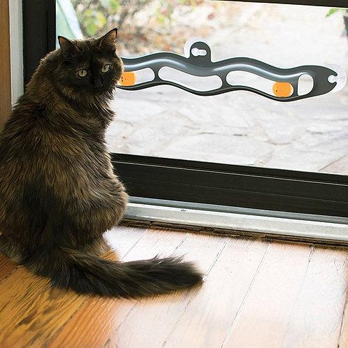 Cat Interactive Window Toy