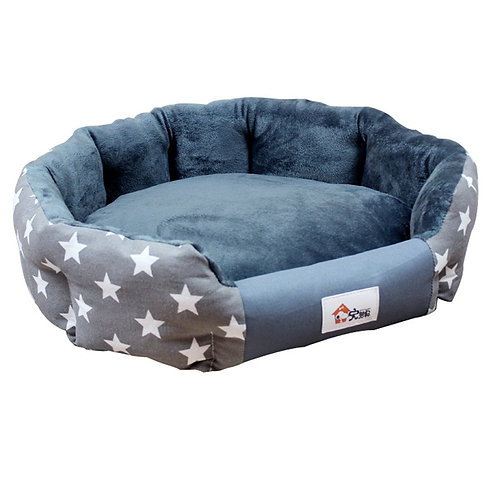 Warm Dog Bed with Soft Waterproof Mat