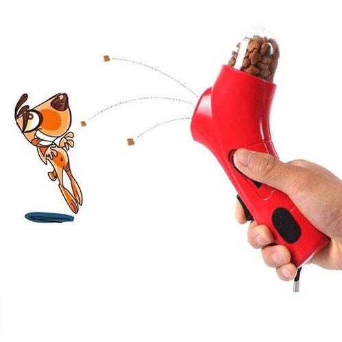 Creative Dog Treat Launcher