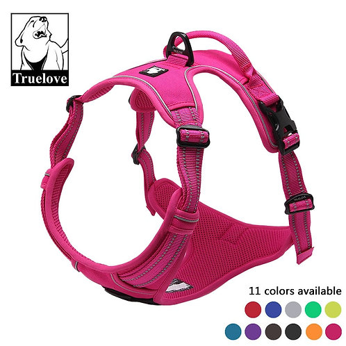 Truelove No Pull Padded Dog Harness With 3M Reflective Front