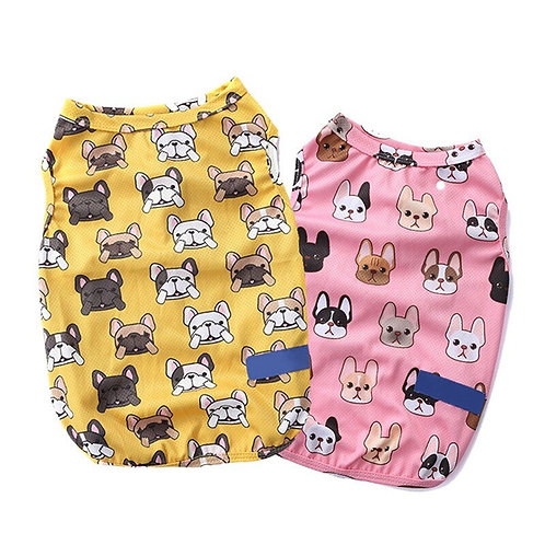 100% Cotton Dog Clothes For Frenchies and Pugs