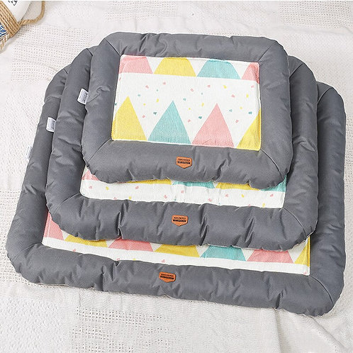 Pet Soft Summer Cooling Kennel Mat/Cooling Bed from Ice Silk