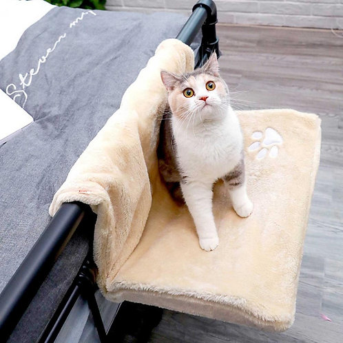 Cat Hammock Bed for Furniture or Window Mount