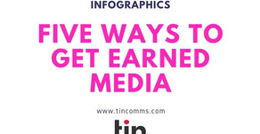 Infographics : 5 Ways to Get Earned Media