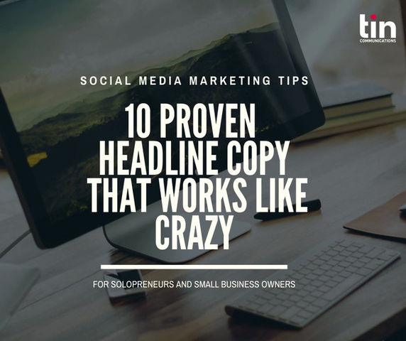 10 Proven Headline Copy that Works Like Crazy