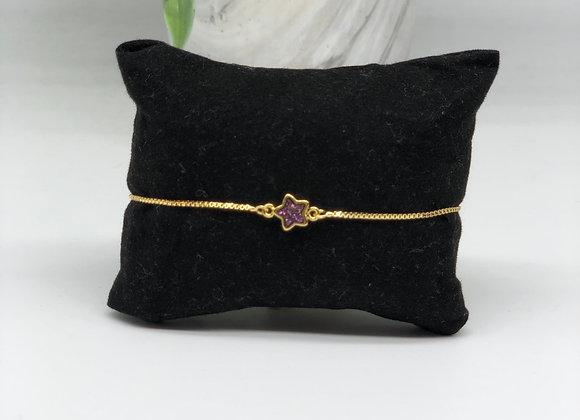 Star Druzy Bracelets