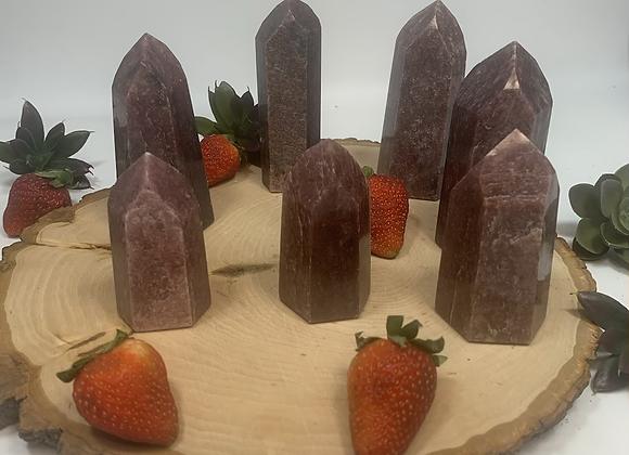 Strawberry Quartz Towers