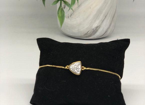 Triangle Druzy Bracelets