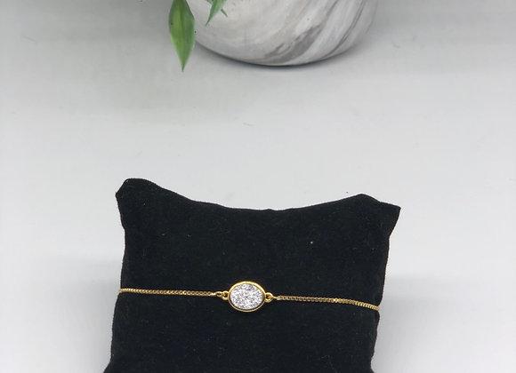 Medium Oval Druzy Bracelets