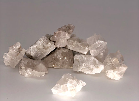Small Clear Quartz Clusters