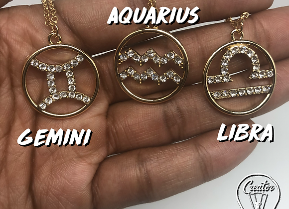Creator zodiac necklace