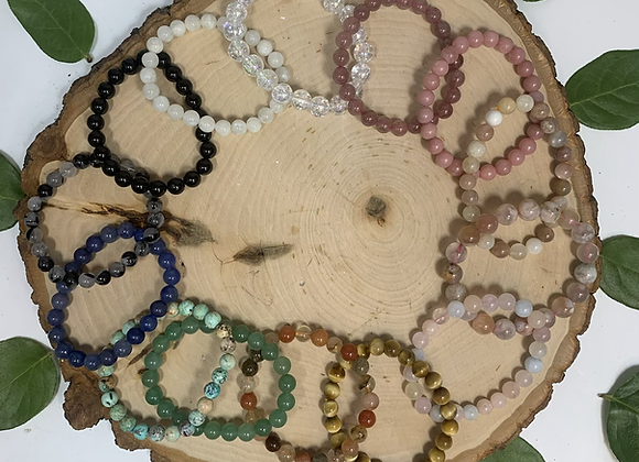 Beaded Crystal Bracelets (new crystals)
