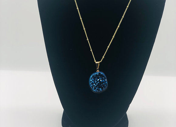 Peacock Pyrite