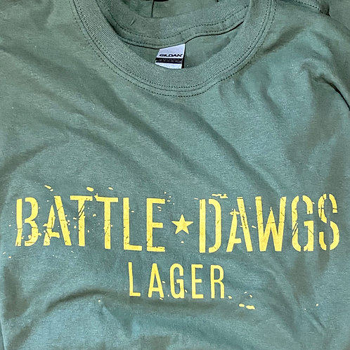 BATTLE DAWGS LAGER T-SHIRT