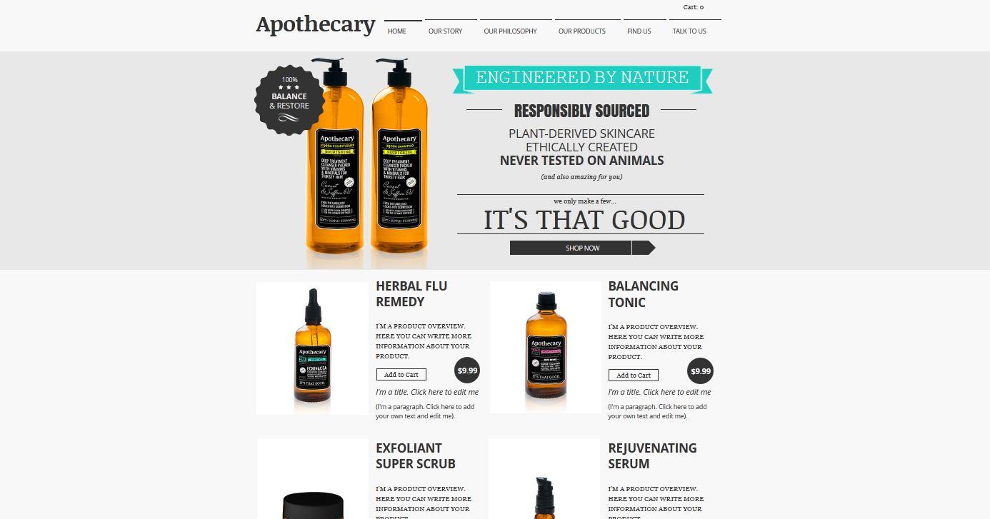 Artsthetics eCommerce Website Design