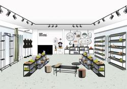 Эскиз концепции Britanka Shop