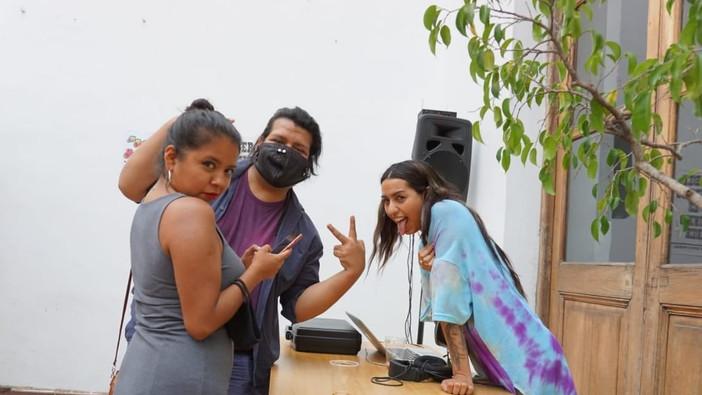 Integrantes Identidad Marrón. Foto de Brian Ariel Palacios