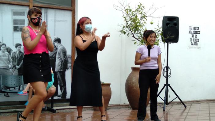 Inauguración de la muestra en la Manzana de las Luces. Foto Alicia Alvado