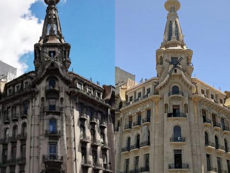 La cúpula del Edificio Del Molino vuelve a relucir después de más de 60 años