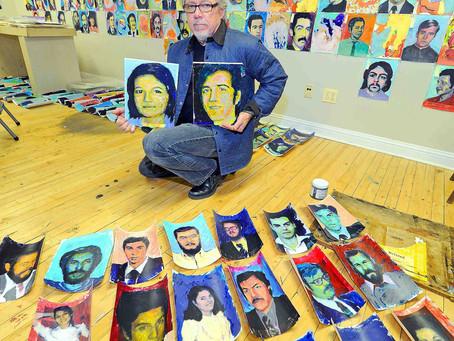 """""""La santidad de las vidas humanas individuales"""" en tres mil retratos"""