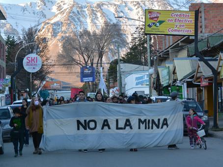 """El """"NO A LA MINA"""" que inició la lucha y se mantiene vigente en Chubut"""