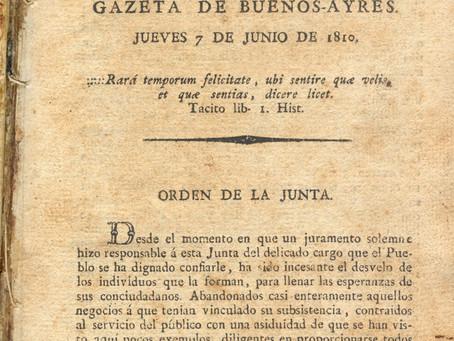 La información oficial, extraoficial y la prensa en tiempos de la Revolución