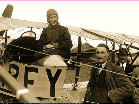 Hace 100 años, ella cruzaba los Andes