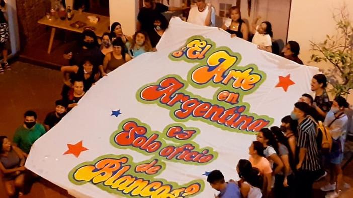 Cierre del acto de inauguración. Foto de Brian Ariel Palacios