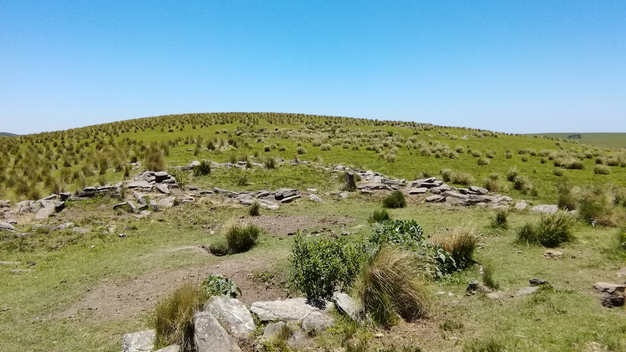 9 Nota Inés paisaje con piedras al raz d