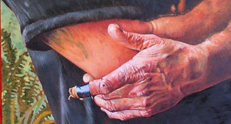 detail of 'Piers' by artist Mieke