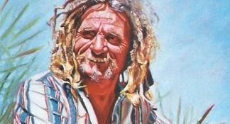 Steve of Te Mahorangi, by artist Mieke