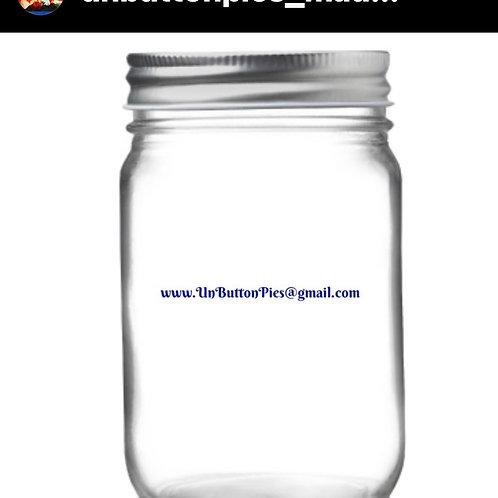 12 oz Mason jars