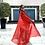 Thumbnail: Ferrari Red Sadu Tunic