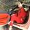 """Thumbnail: """"Mini"""" Ferrari Red Sadu Tunic"""