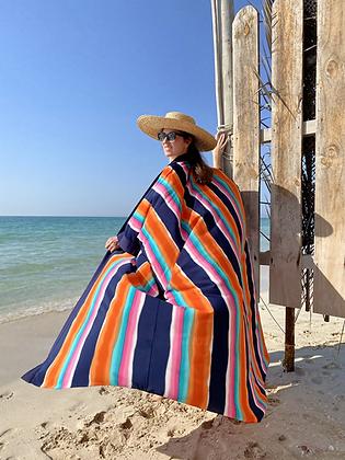 Stripy Sensation Beach Tunic