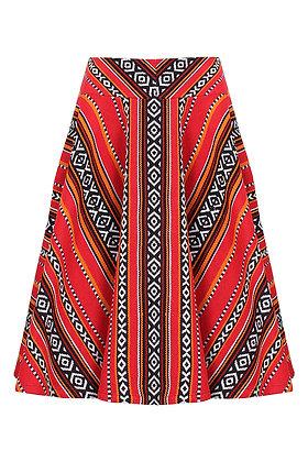 Sadu Red Skirt