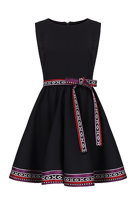Sadu LIttle Black Dress Purple