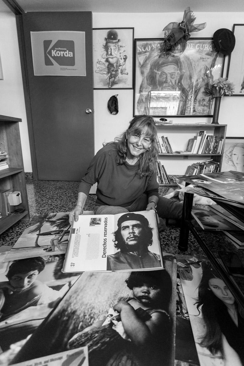 Diana Diaz, filha do Fotografo A. Korda