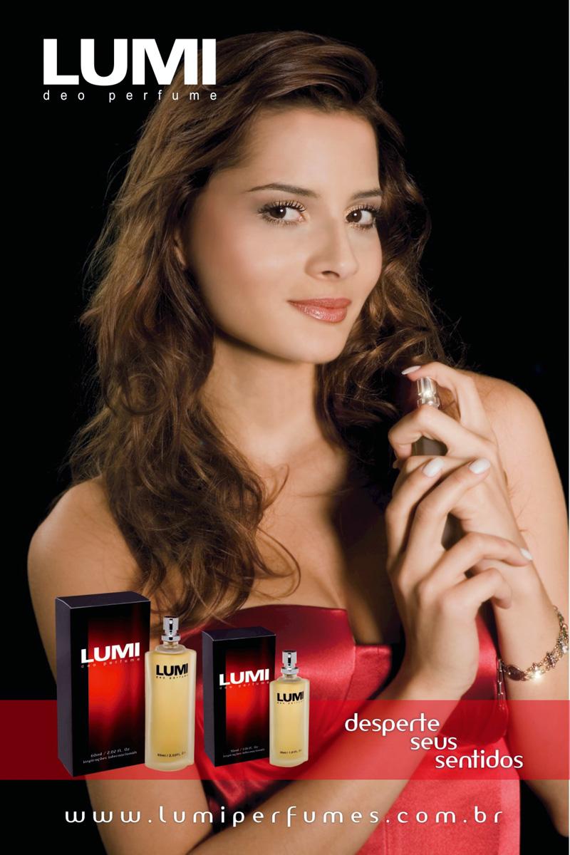 Campanha da Lumi Perfumes