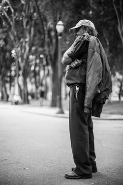 """Praça da Luz -SP  """"Retratos Anônimo"""""""