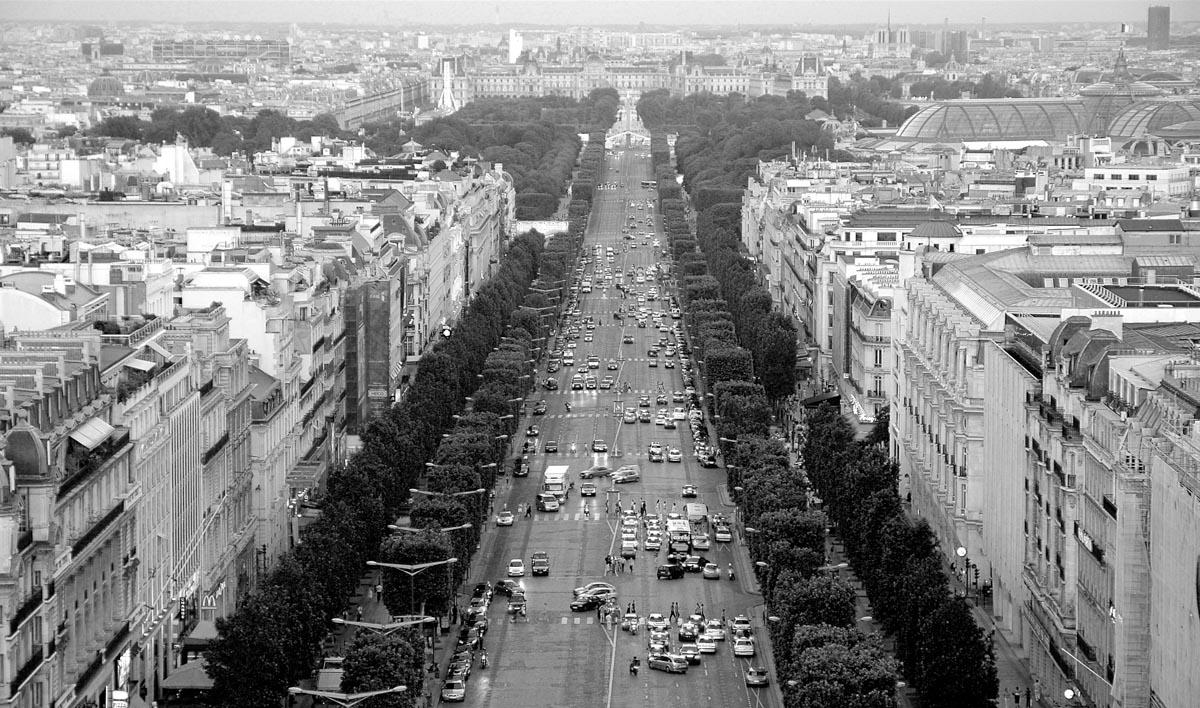 Champs-Élysées Paris - França