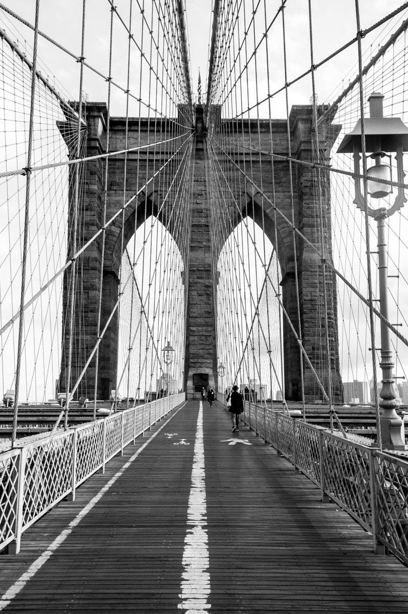 Ponte do Brooklyn  Nova Iorque -EUA