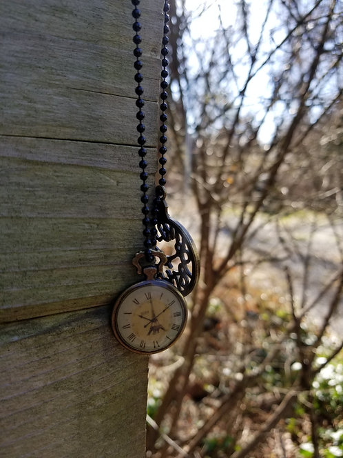 Times Up Pendant Necklace