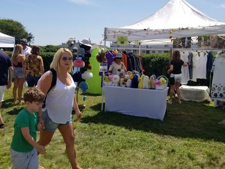 A Walk Through the Montauk Historical Society Craft Show,  Summer 2021.