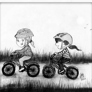 Eve & Glen Go Bike Riding