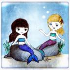 Eve & Glen Become Mermaids