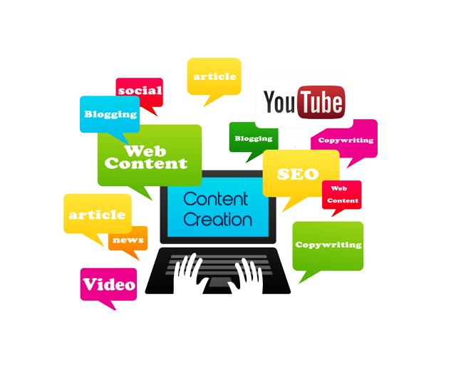 Content, App & Website Creation